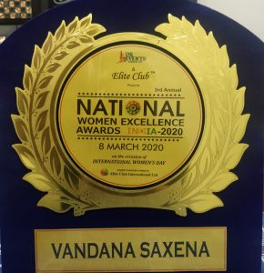 National Women Excellence Award