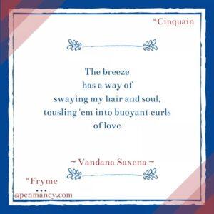 Poetry By Vandana Saxena
